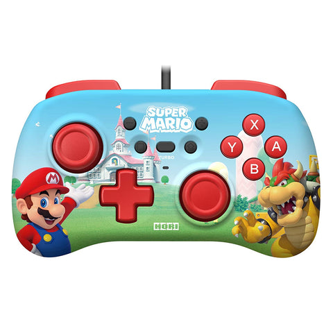 HORI HORIPAD Mini Wired Controller Super Mario for Nintendo Switch  Officially Licensed by Nintendo - Super Mario
