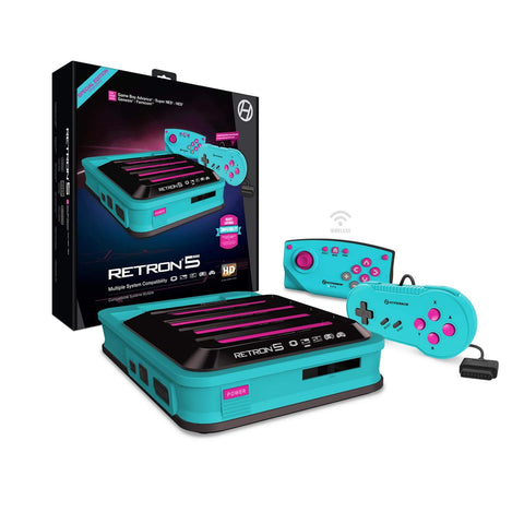 Hyperkin RetroN 5: HD Gaming Console for GBA/GBC/GB/NES/Super NES/Super Famicom/Genesis/Mega Drive/Master System - Hyper Beach