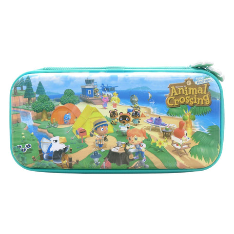 HORI Official Nintendo Switch & Switch Lite Premium Vault Case  - Animal Crossing: New Horizons