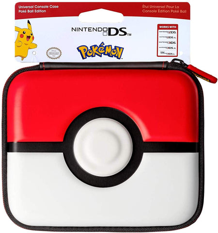 PDP NDS Universal Console Case - Poke Ball Edition for Nintendo New 3DS XL, 3DS, 2DS XL, 2DS