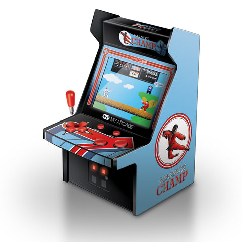 MY ARCADE Data East Karate Champ Micro Arcade Machine Portable Handheld Video Game