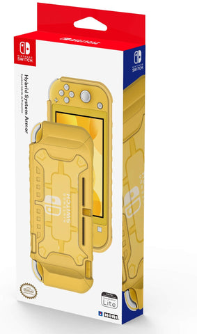 Hori Official Nintendo Switch Lite Hybrid System Armor TPU Case  - Yellow