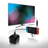 Bionik TV Lynx Portable TV Connect Cable and Charge Kit for Nintendo Switch