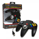 CirKa N64-Style USB Controller for PC / Mac - Black