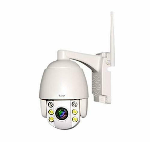 EasyN 109 Full HD 2.0MP 1080p 5x Optical Zoom 2-Way Audio Wireless PTZ P2P Waterproof IP Camera