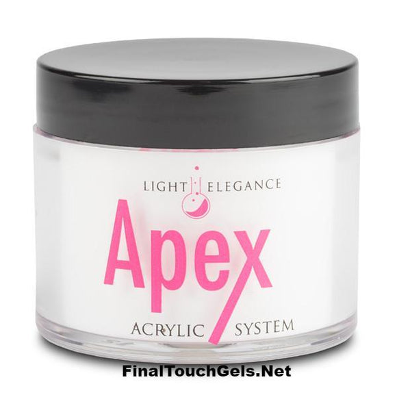 APEX Brilliant White Acrylic Powder, 45 grams