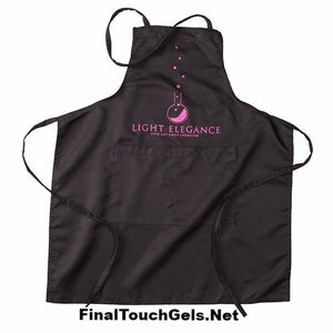 Light Elegance Apron, Black