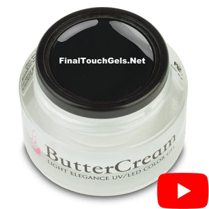 Black Tie ButterCream Color Gel - Light Elegance