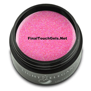 Bubble Gum Glitter Gel, 17 ml - Light Elegance