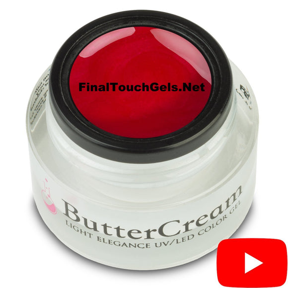 Cha Cha Cherry ButterCream Color Gel - Light Elegance