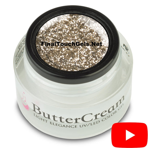 Gold-Bug Glitter ButterCream Color Gel - Light Elegance
