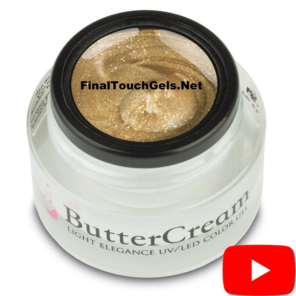 Gold Metallic ButterCream Color Gel - Light Elegance