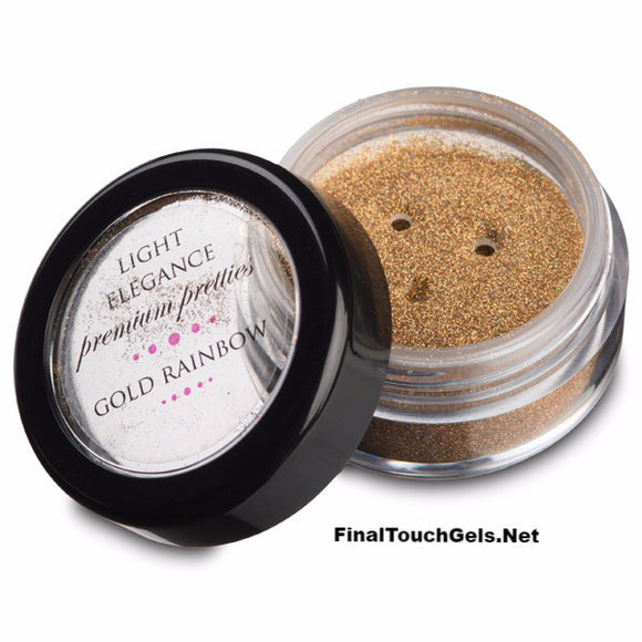 Gold Rainbow Halo Pretty Powder