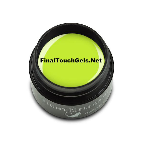 Neon Green LE Gel Paint - Light Elegance
