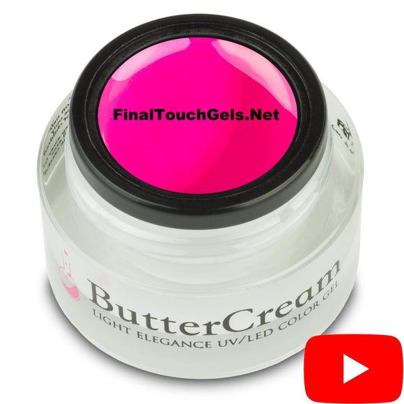 Playful Pink ButterCream Color Gel - Light Elegance