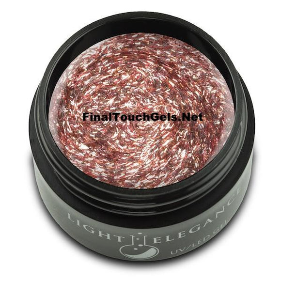 Rose Fuzzie Glitter Gel, 17 ml - Light Elegance
