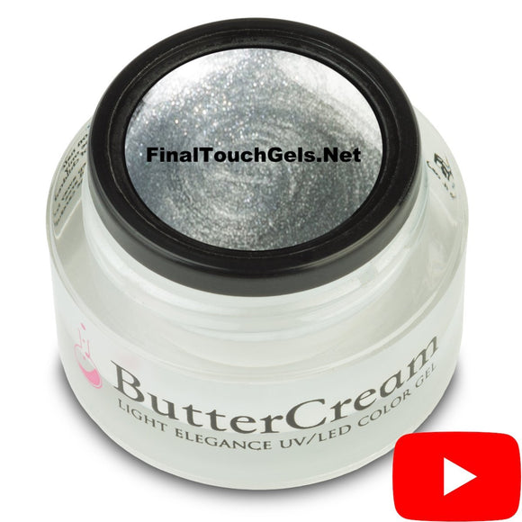 Silver Metallic ButterCream Color Gel - Light Elegance