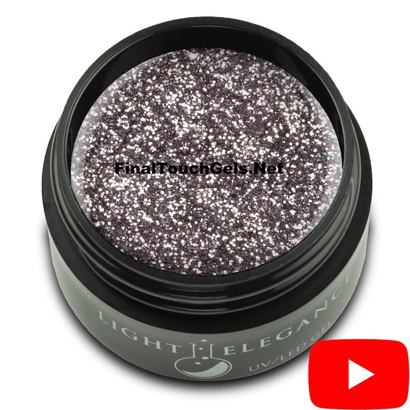 Smoke and Mirrors Glitter Gel, 17 ml - Light Elegance