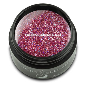 Tickled Pink Glitter Gel, 17 ml - Light Elegance