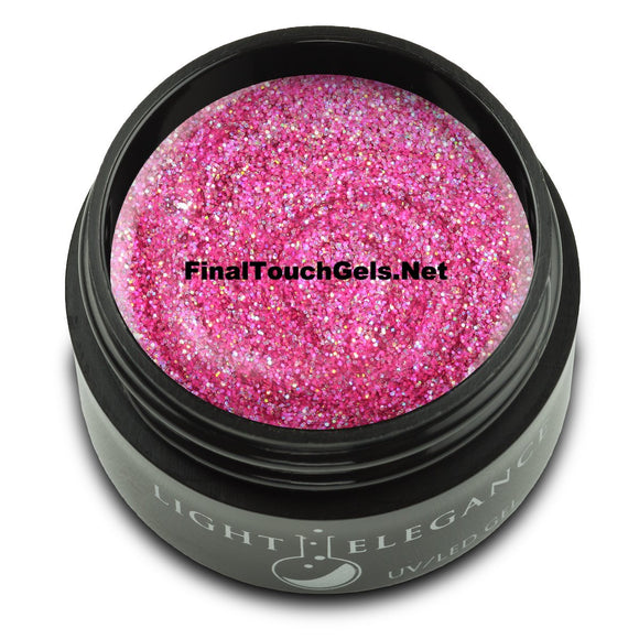 Very Berry Glitter Gel, 17 ml - Light Elegance