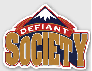 Defiant Denver Sticker