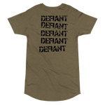 Defiant Long Body Tee Military Green