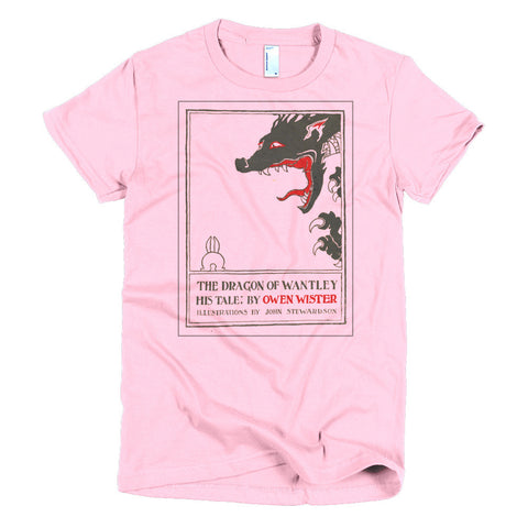 The Dragon of Wantley Outline Women's t-shirt