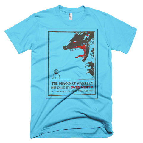 The Dragon of Wantley Outline Men's T-shirt