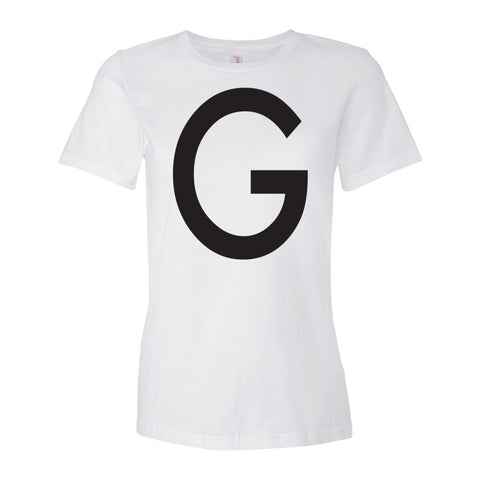 The Letter G in Black Ink | Women's T-shirt