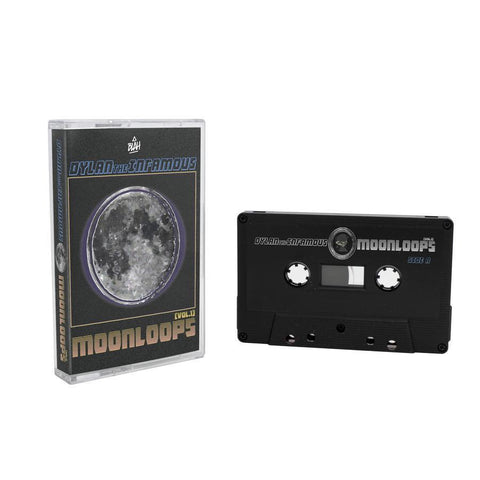 dylantheinfamous - moonloops [vol. 1] cassette release-Blah Records