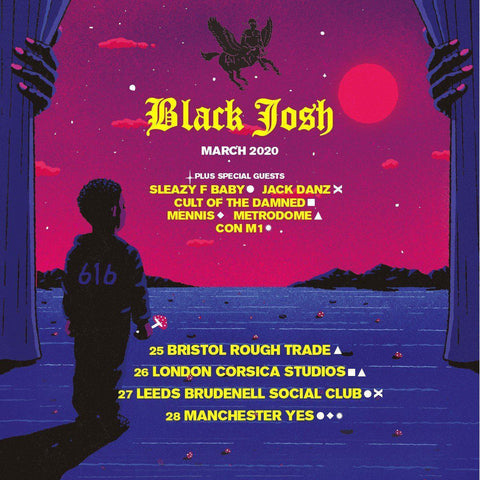 Black Josh Tour Dates + COTD Support-Blah Records