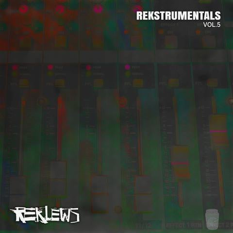 Reklews - 'Rekstrumentals Vol. 5' (Digital)-Blah Records-Digital--Blah Records