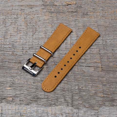 20 mm sand watch strap