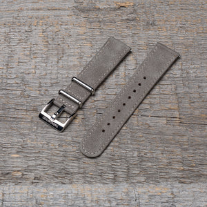 20 mm royal gray watch strap