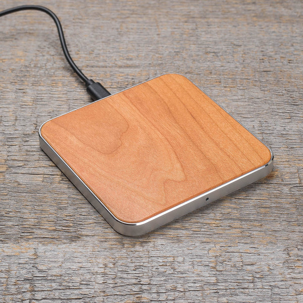 walnut wood wireless charger