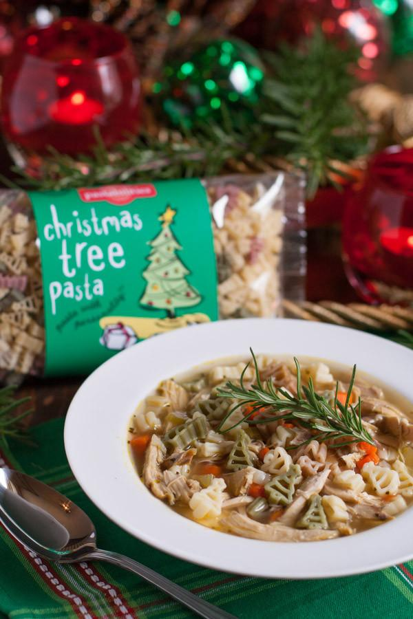 Quick Holiday Chicken Noodle Soup Recipe