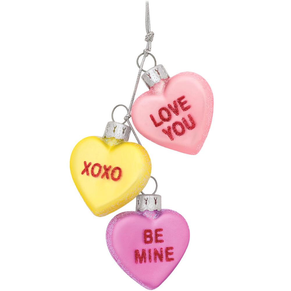 Conversation Hearts Ornament