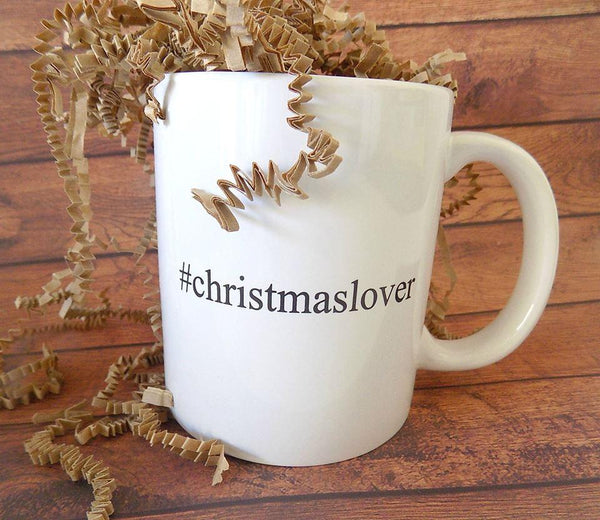 #christmaslover Christmas Coffee Mug