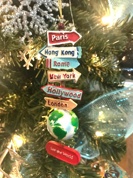 Kurt Adler Travel ornament