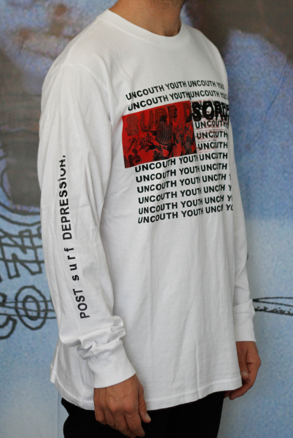 the MOSHPIT L/S tee