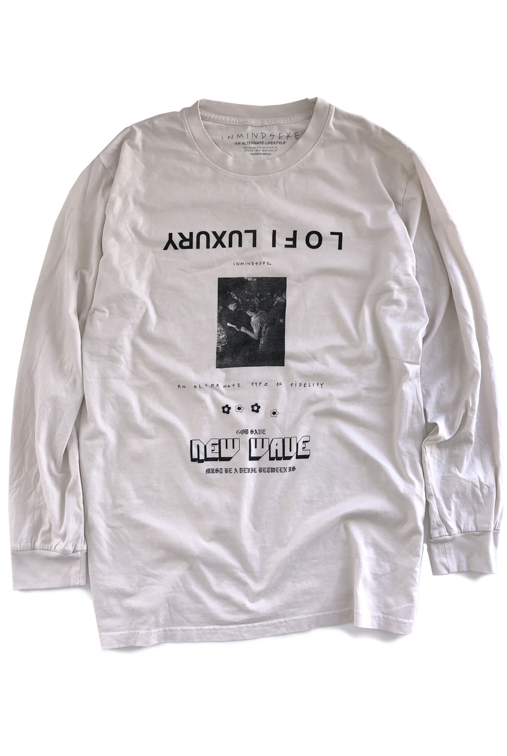the ALT L/S tee / nicotine