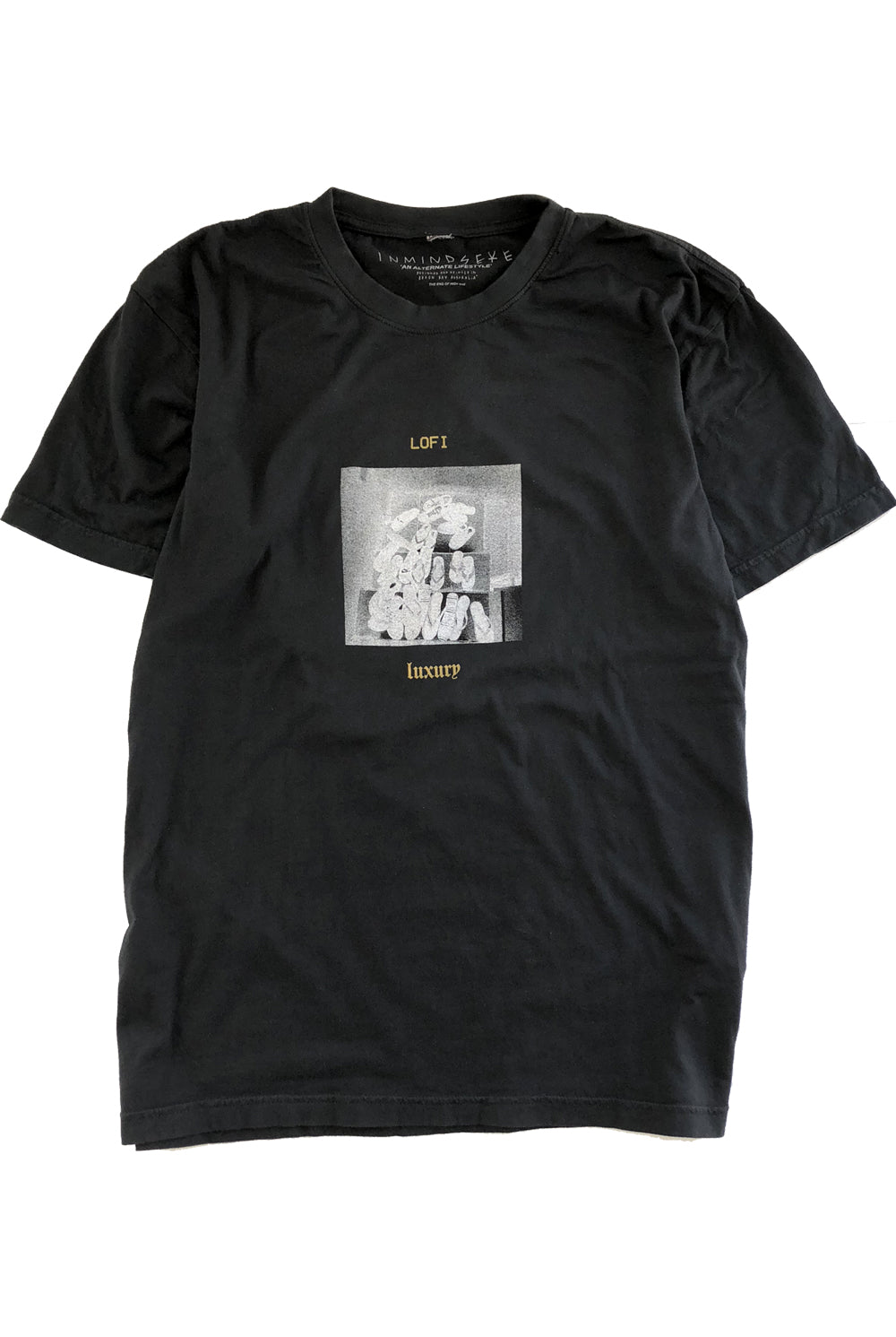 the PINES tee / band tee black
