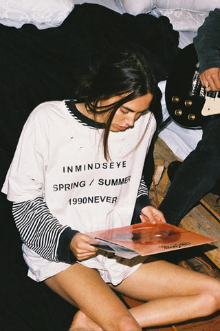 "1990NEVER part.2 TEE ""nicotine stain"""