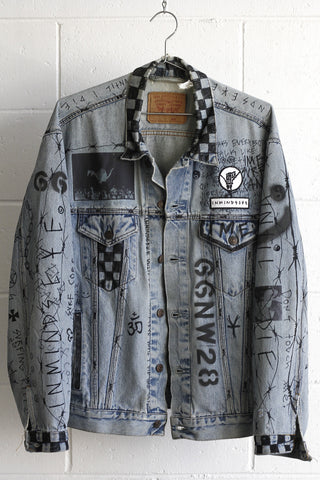 UNTIL I DIE JACKET / custom 1 of 1
