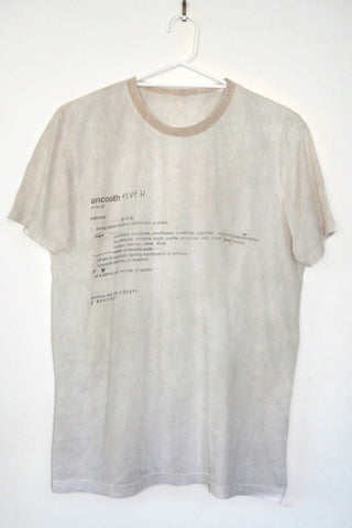 "DEFINITION tee ""nicotine stain"""