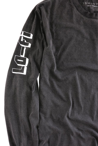 the HI-FI L/S tee / vintage black
