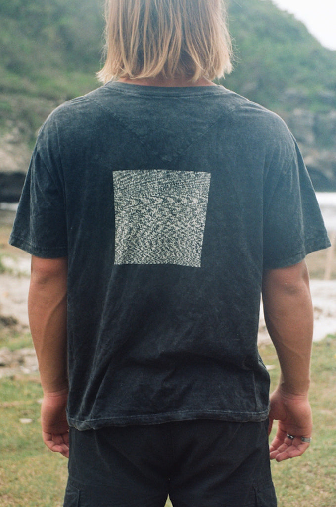 "EXPERIMENTAL tee ""washed black"""