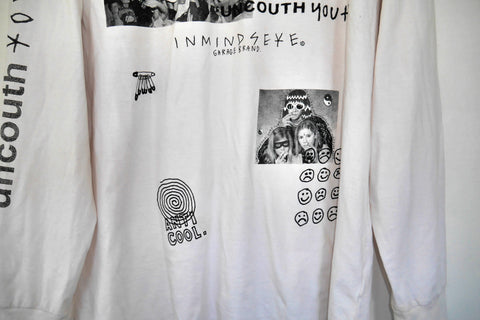 "UNCOUTH YOUTH L/S tee ""nicotine stain"""
