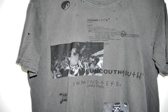 "UNCOUTH YOUTH tee ""vintage black"""
