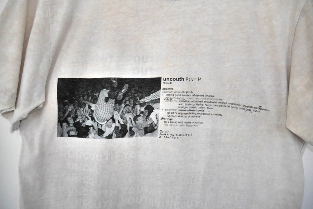 "MOSHPIT tee ""nicotine stain"""
